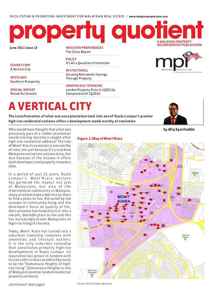 MPI Market Report – June 2011