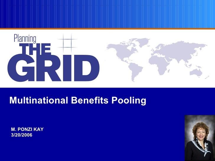 Multinational Benefits Pooling  M. PONZI KAY 3/20/2006                                    1