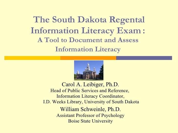 Mpla South Dakota IL Exam Leibiger And Schweinle