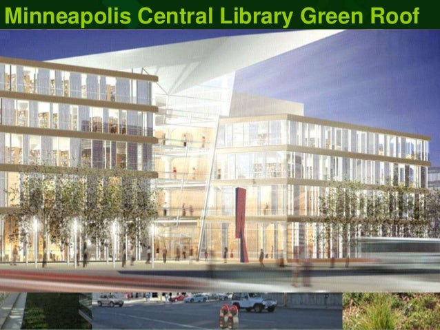 Mpls library-greenroof