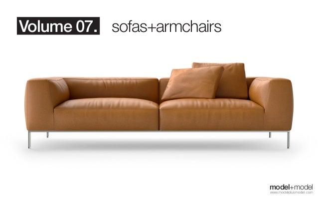 model+model vol.07 Sofas + Armchairs