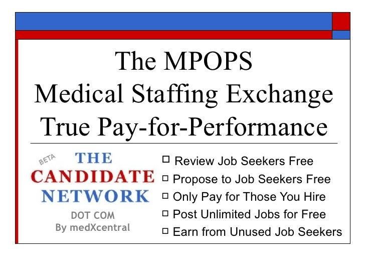 MPOPS Medical Staffing Exchange