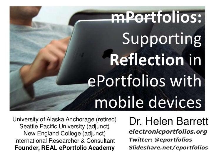 M portfolios poster