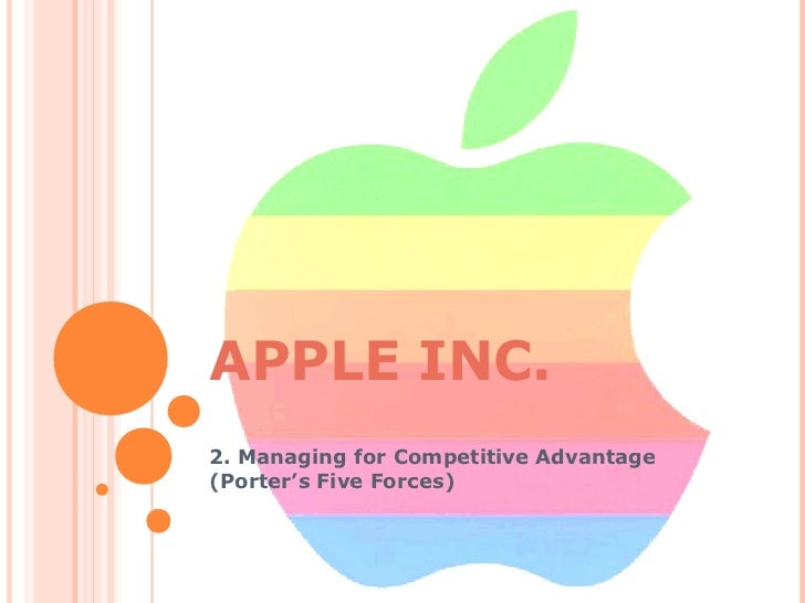 apple competitive advantage case study Apple's competitive advantage in pcs apple's competitive advantage in pc has been gained through the years, every new products being one step, and has been mostly based on four factors which are the ease of use, the design, the versatility and the innovation.