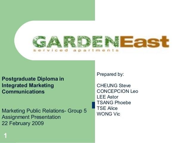 Prepared by:Postgraduate Diploma inIntegrated Marketing                  CHEUNG SteveCommunications                       ...