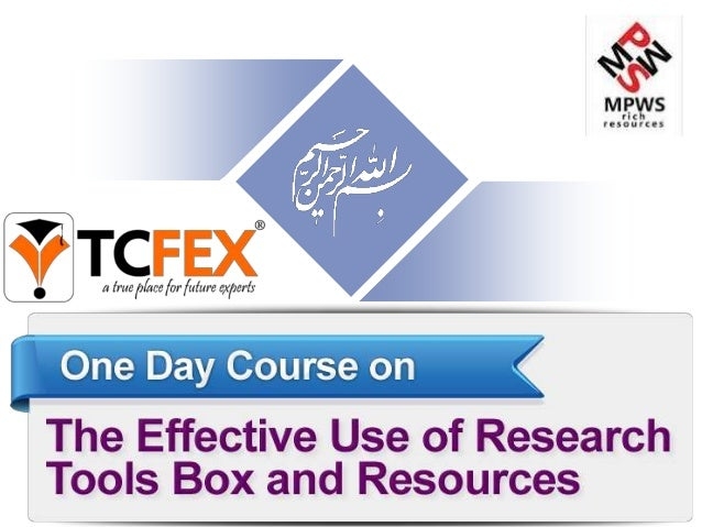 Research Tools-part 2- by dr. nader ale ebrahim