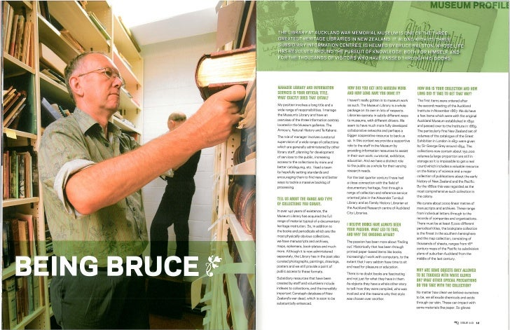 Mq110 Autumn 2007 Being Bruce