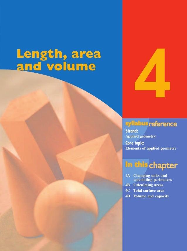 Maths A - Chapter 4