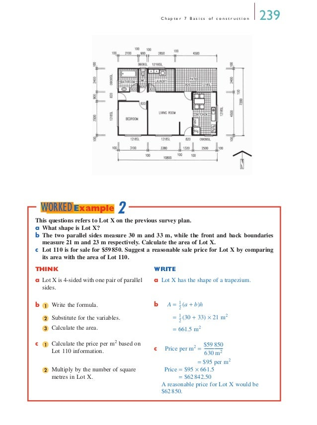 Understanding house plans chapter 7 home design and style for Understanding blueprints
