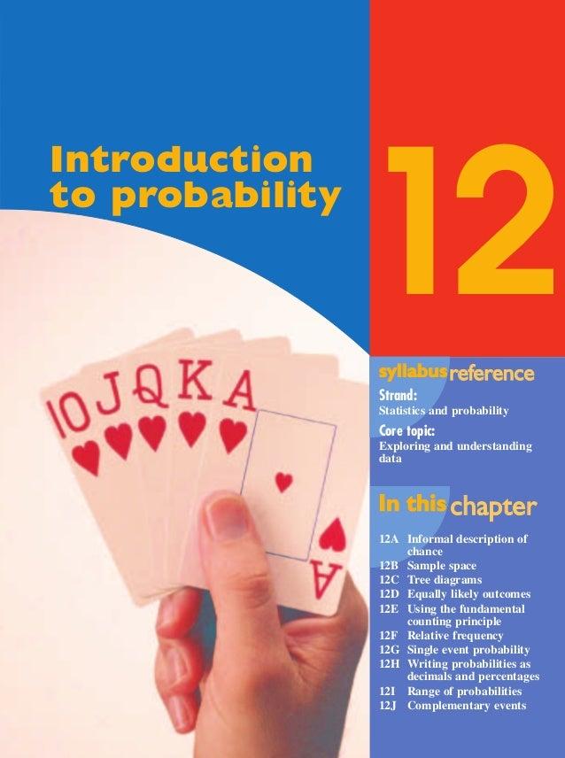 Maths A - Chapter 12