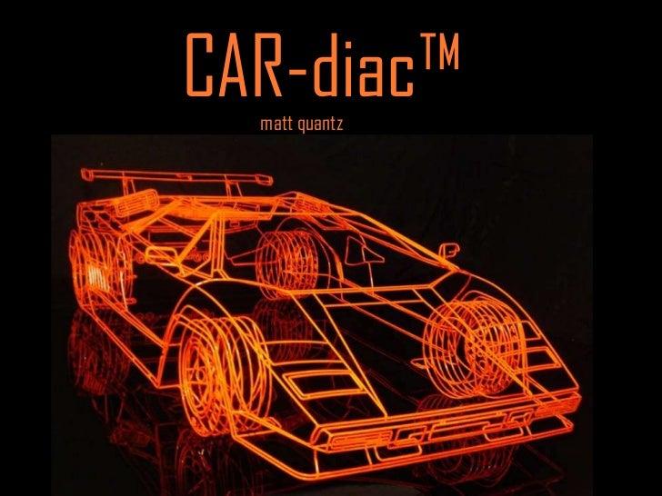 CAR-diac™  matt quantz   t