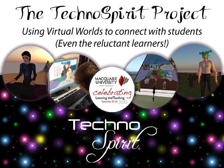 The TechnoSpirit Project: Macquarie University Learning & Teaching Week