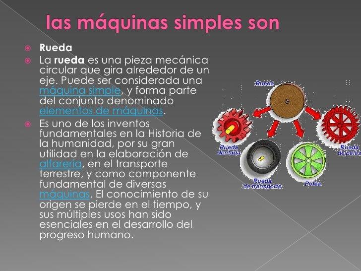 Rueda Y Eje Maquina Simple