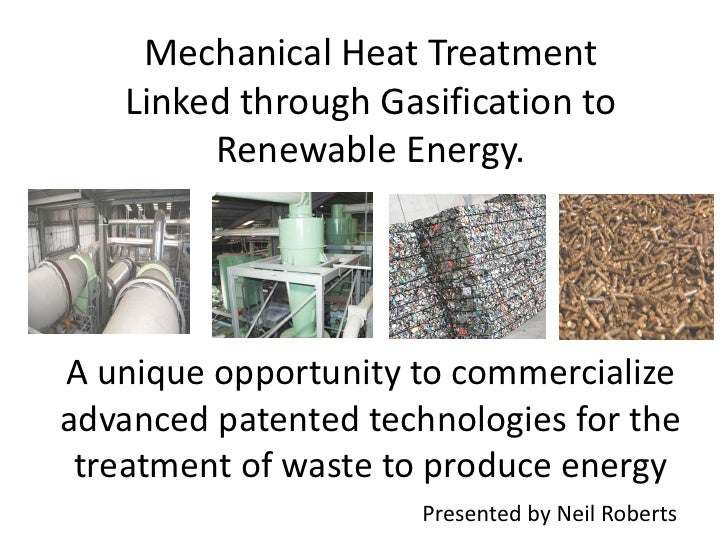 Mr. Neil Roberts - Mechanical Heat Treatment