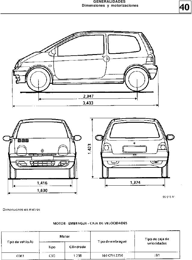 Manual de Reparacion MR305 Twingo 1(Generalidades