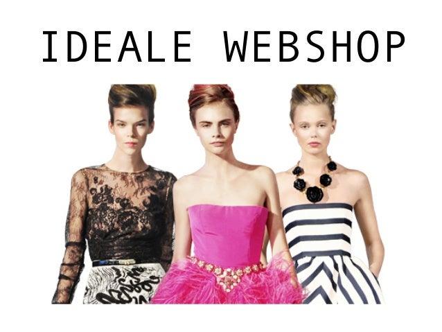 IDEALE WEBSHOP