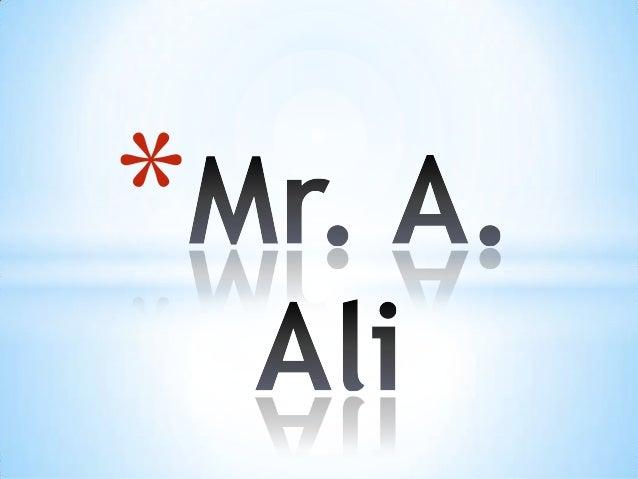 Mr Ali- Yr 11 Boys Assembly