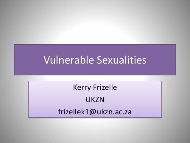 MRC/info4africa KZN Community Forum | July 2014 | Youth Sexualities | Mz Kerry Frizelle
