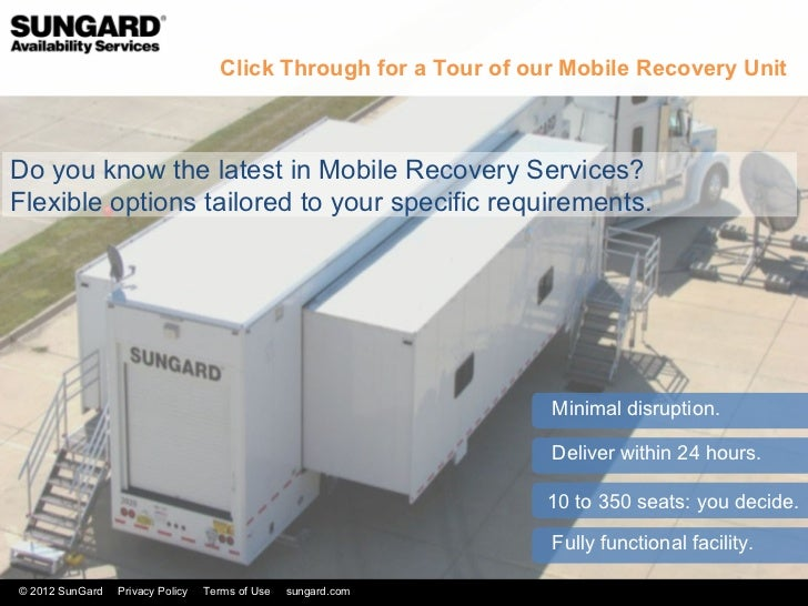 Click Through for a Tour of our Mobile Recovery UnitDo you know the latest in Mobile Recovery Services?Flexible options ta...