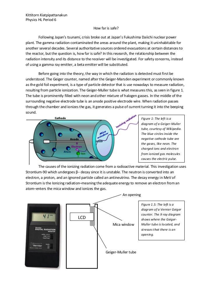 Kittitorn KiatpipattanakunPhysics HL Period 6                                            How far is safe?        Following...
