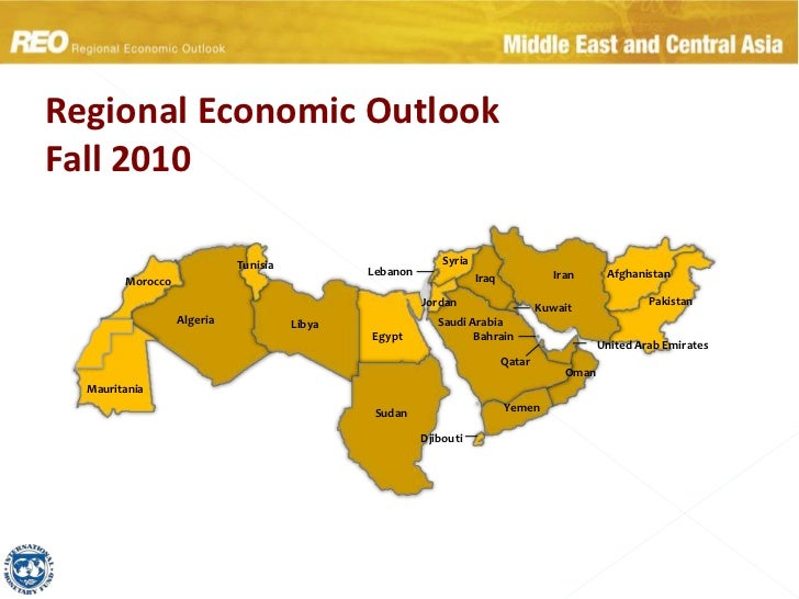 Regional Economic OutlookFall 2010<br />Syria<br />Tunisia<br />Lebanon<br />Afghanistan<br />Iran<br />Iraq<br />Morocco<...