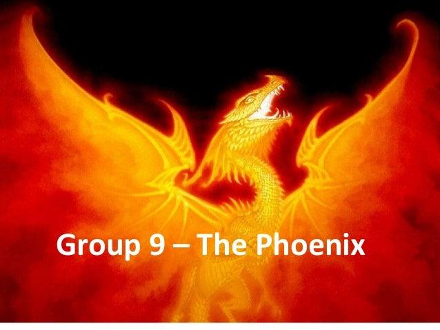 Group 9 – The Phoenix