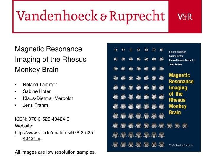 MRI Atlas ISBN 978-3-525-40424-9