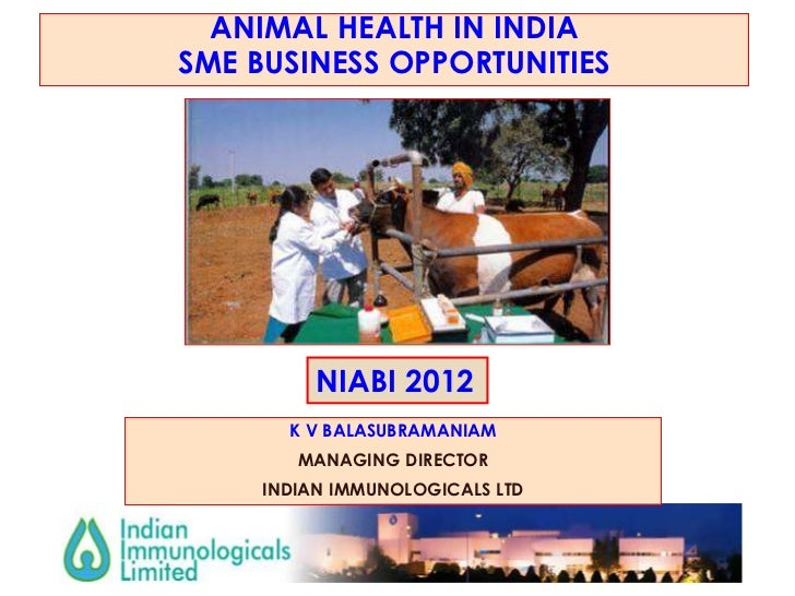 Animal health in India: SME business opportunities