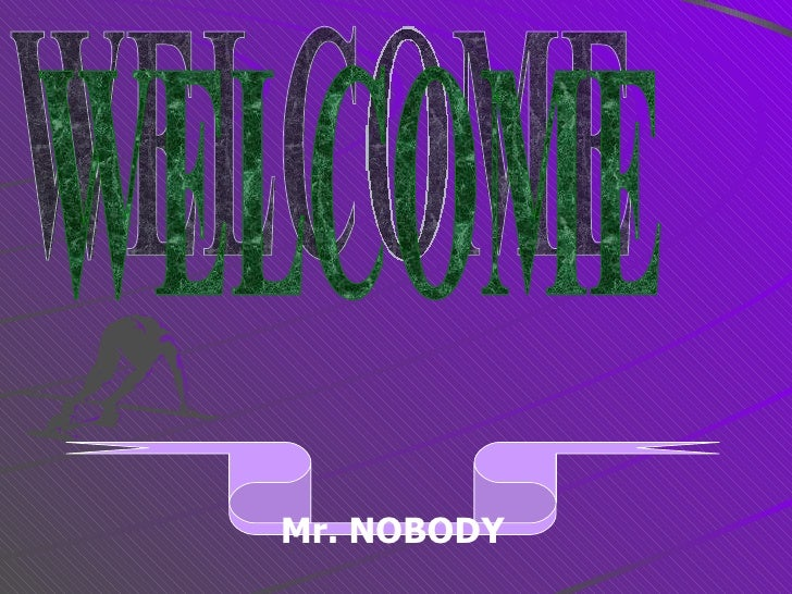 mr nobody essay Free nobody papers, essays, and research papers my account an analysis on the surface of the story is one day mr hooper minister of a congregation in.