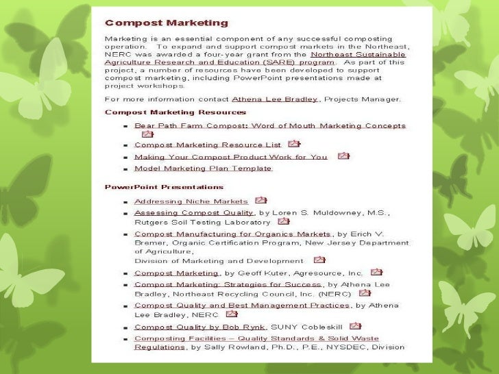 http://www.nerc.org/compost_marketing/index.html