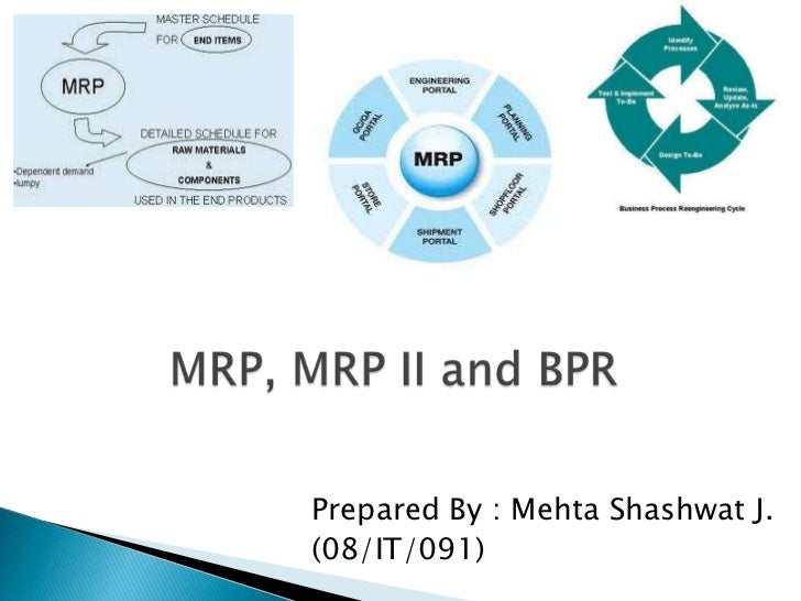 an analysis of the differences between the mrp one and mrp two Supply chain inventory control: a comparison among jit,  and mrp with information sharing using simulation  comparison between these two inventory management.