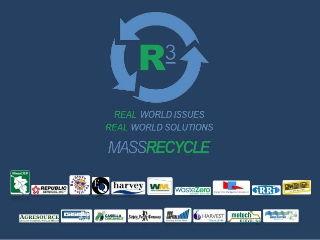 Conference Plenary PanelZero Waste and the Municipal Solid Waste Combustion Moratorium• MassRecycle attended EEA meeting o...