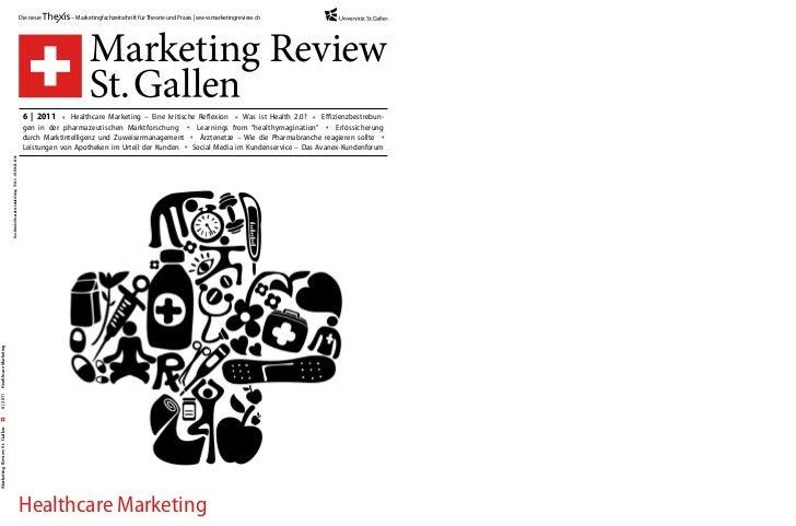 Die neue       – Marketingfachzeitschrift für Theorie und Praxis | www.marketingreview.ch                                 ...