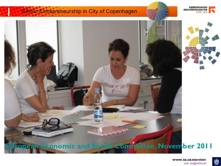 Ethnic Entrepreneurship in City of Copenhagen