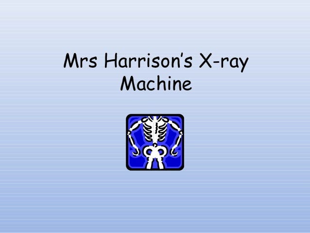 Invertebrates & Vertebrates x-ray_machine