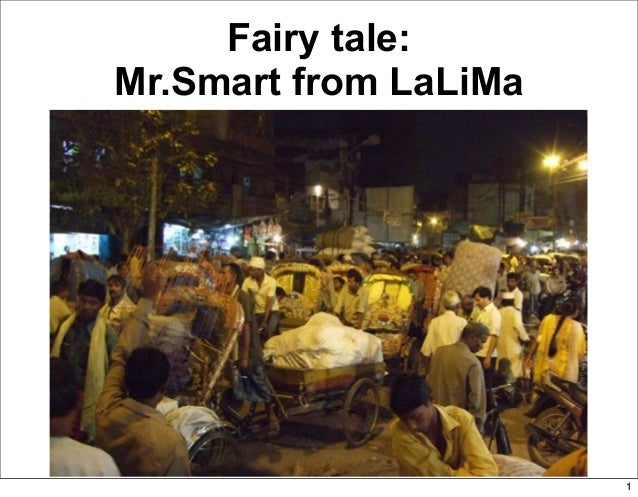 Fairy tale Mr Smart and inventory management