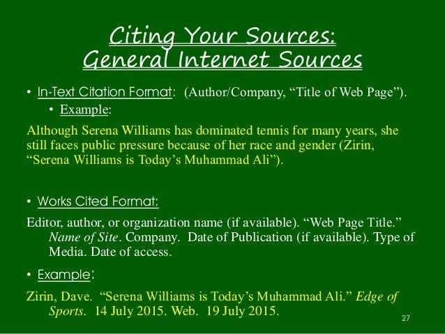 cite internet sources research papers My accounts ask a librarian library hours search our site search & find home research support citing sources citing sources apa.
