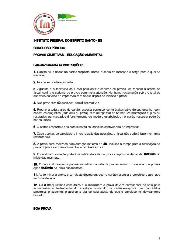 Ms concursos-2010-if-es-professor-educacao-ambiental-prova