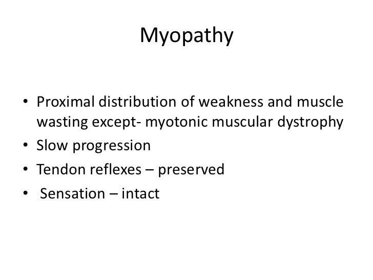 steroid myopathy muscle biopsy