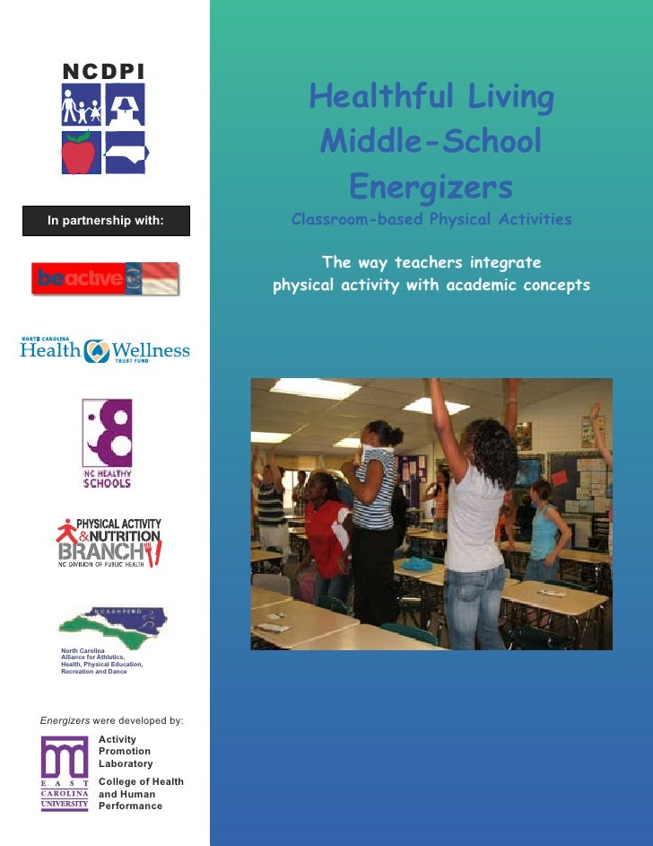 NCDPI                                         Healthful Living                                         Middle-School      ...