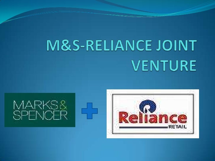 M&S Reliance Joint Venture Ppts