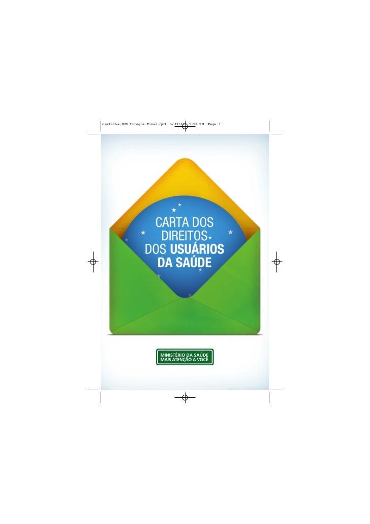 cartilha SUS Integra Final.qxd   3/29/06   5:58 PM   Page 1