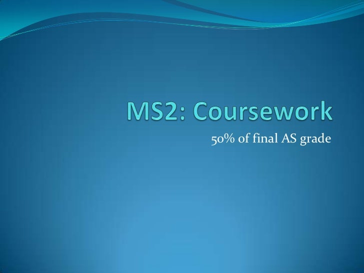 Introduction to MS2