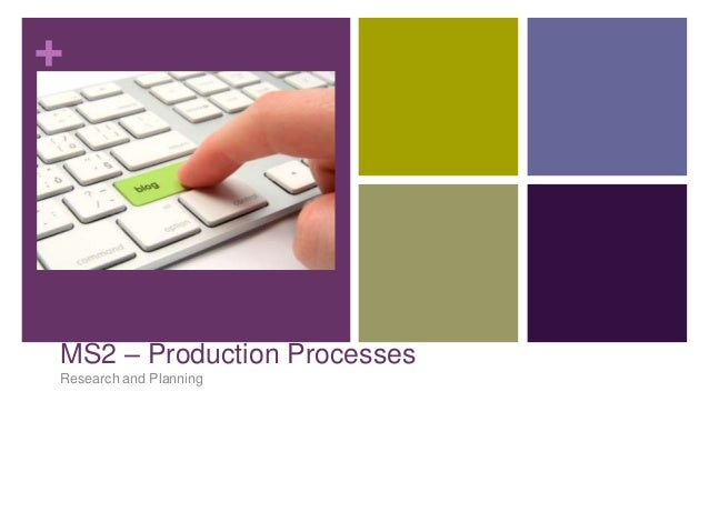 +  MS2 – Production Processes Research and Planning