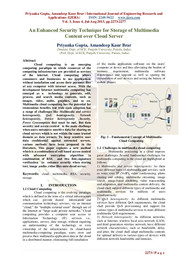 Priyanka Gupta, Amandeep Kaur Brar / International Journal of Engineering Research and Applications (IJERA) ISSN: 2248-962...
