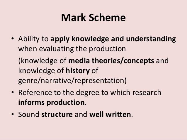 a rhetorical analysis essay Aqa gcse media studies coursework mark scheme