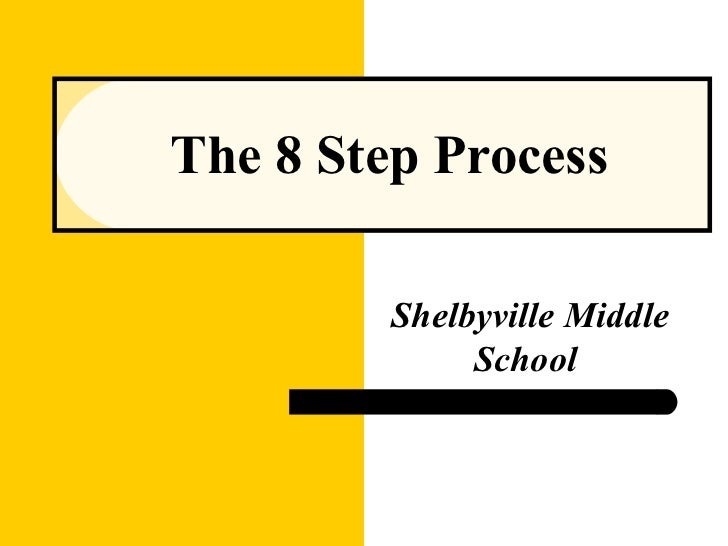 The 8 Step Process Shelbyville Middle School
