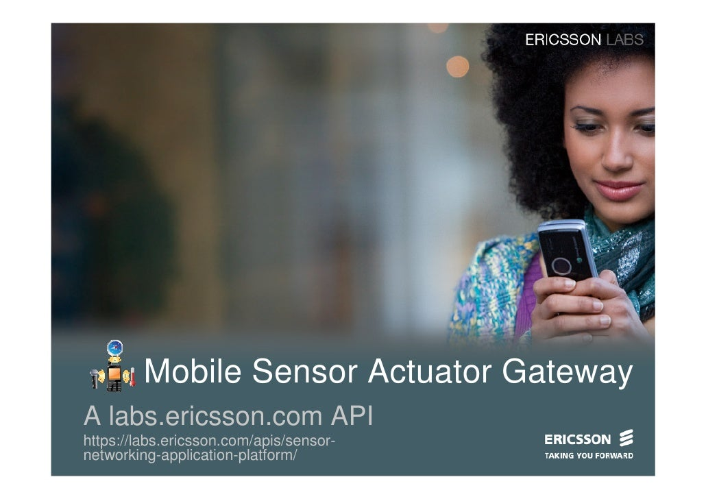 Mobile Sensor Actuator Gateway On Labs