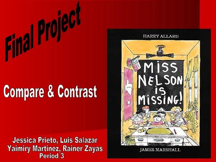 Jessica Prieto, Luis Salazar Yaimiry Martinez, Rainer Zayas Final Project Period 3 Compar