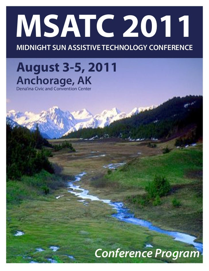 Midnight Sun Assistive Technology Conference